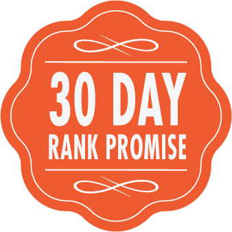 30 day SEO Northampton ranking promise badge