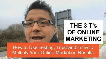 The 3 T's of Online Marketing – How to use Testing, Trust and Time to Multiply Your Online Marketing Results